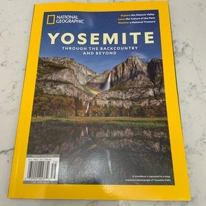 National Geographic August 2020 Yosemite Park NEW